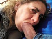 "Got my mouth around a good hard cock here ""P"