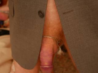 Dick in jacket