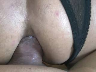 Cock-craving wife gets filled her ass with a fat cock!