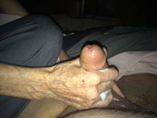 the wife jacking me off