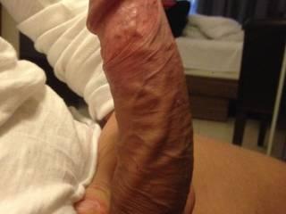 My dick, 20cm hard :)