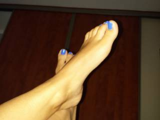 Would you lick them, that would make me horny?