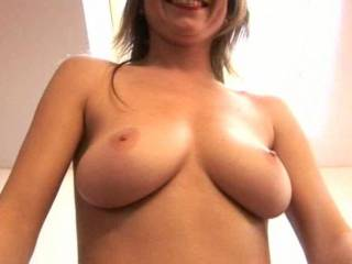 I want a woman a with wet pussy sucking the left tit and a man with a hard cock sucking the right.