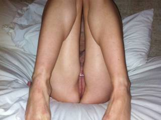 Wife about to get fucked by her boyfriend.