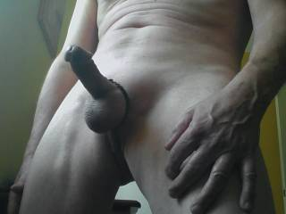 My cock again.