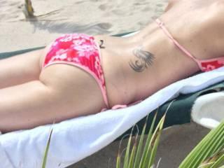 Wife's sexy ass