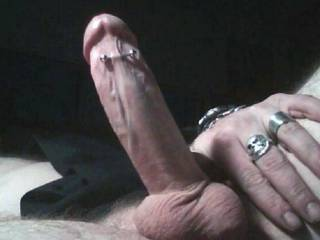 just my hard cock begging for attention...