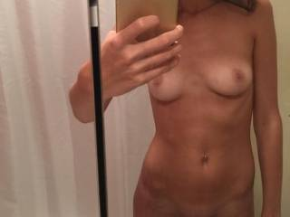 Fully nude for you x