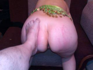 Wife ass submissive for spunking...