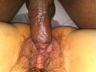 Cumming sooooo hard as I'm getting fucked soooooo good.......