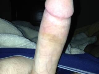 10 inch white cock