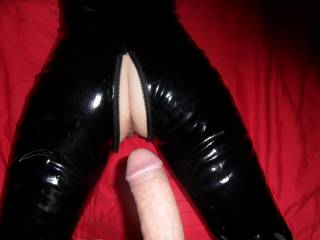 Ready to receive a big load. I love to feel his big cock in me. I bet you wish it were you?